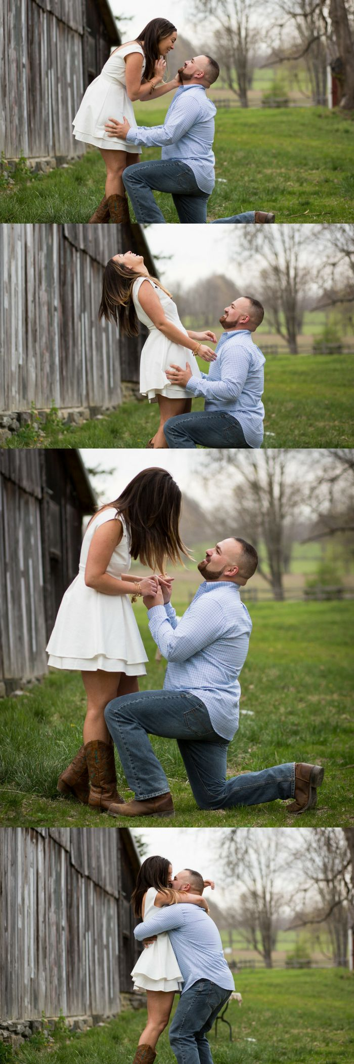 He asked her to marry him in the middle of a photo shoot, and it's so sweet!
