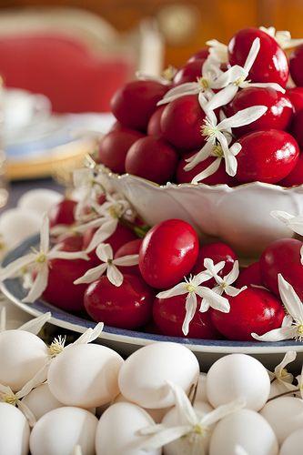 Greek Easter Tablescape