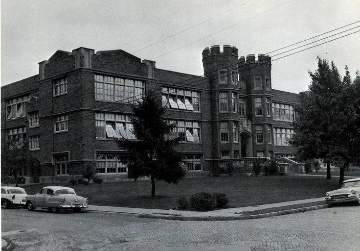 Theodore Roosevelt Junior High School in 1967