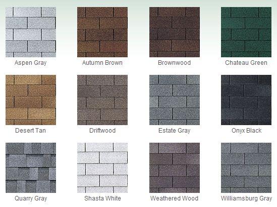 Brown Roof Shingle Colors Roof Shingle Colors Shingle