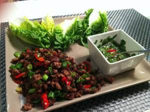 Gordon Ramsay's Chili Beef Lettuce Wraps