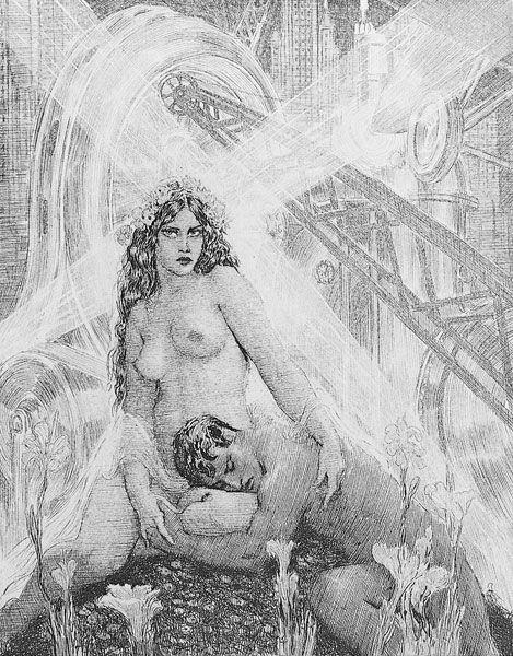 margueritesauvage:  A very-multi talented Australian artist: Norman Lindsay Norman Alfred William Lindsay (22 February 1879 – 21 Novem...