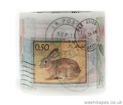 American stamp washi tape - so sweet