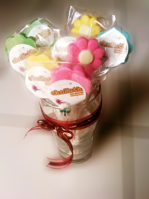 flower choc candy