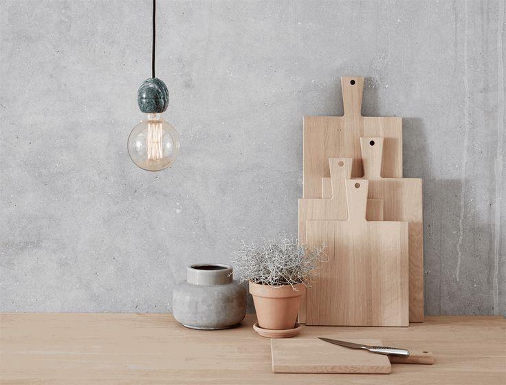 Andersen Furniture - Serveringsbræt (60 x 25 cm) - Eg - Køkkentilbehør - service - bordopdækning - udstyr til køkken - køkken indretning - dansk design - kvalitetsvarer