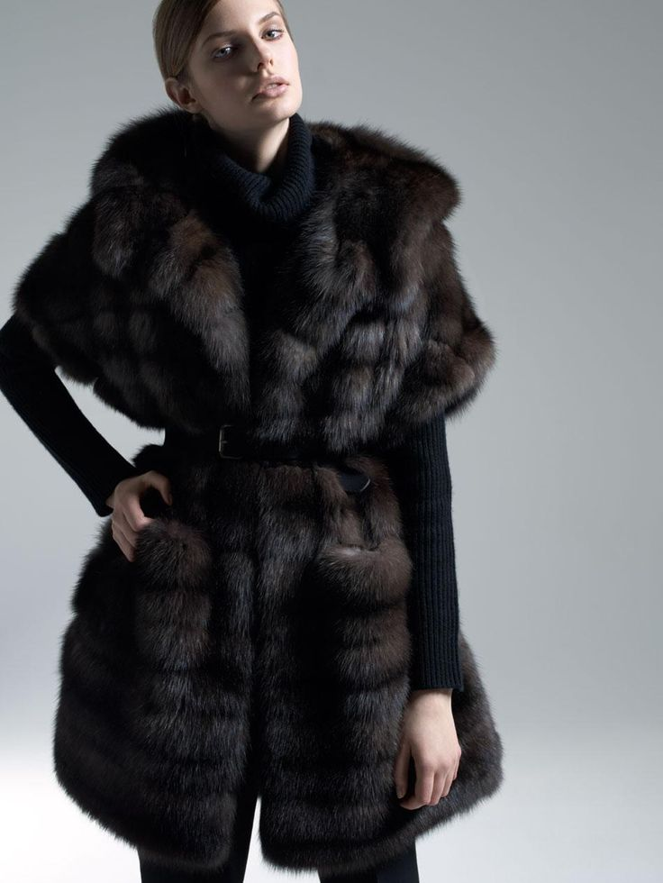 17 Best images about Russian sable fur coats on Pinterest | Dark ...