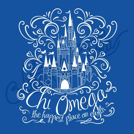Sorority Recruitment Chi Omega Castle South By Sea