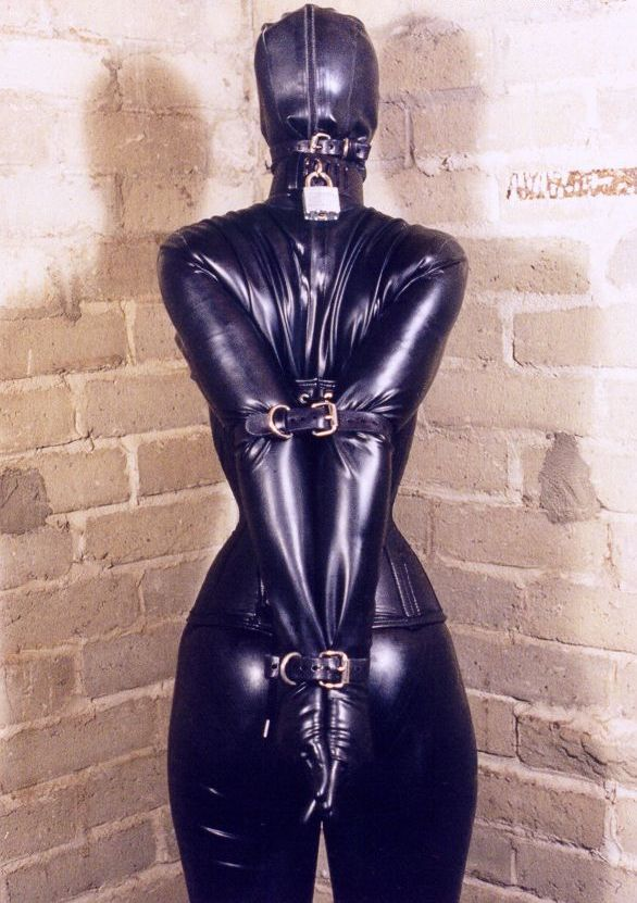 Latex extrem bondage this