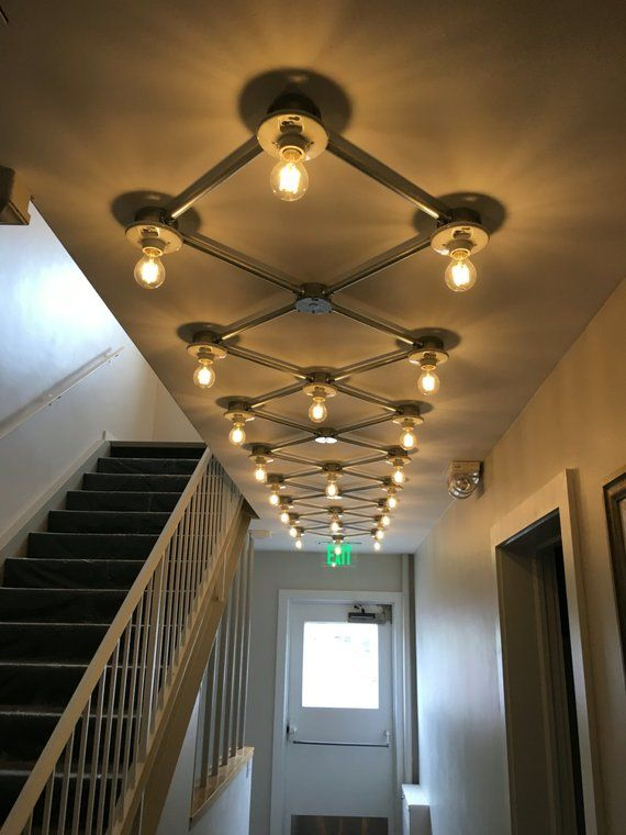 Flush Mount Grid Light In 2019 Ceiling Light Design
