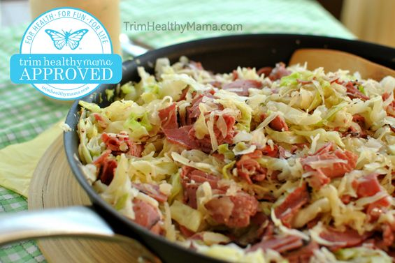 Reuben In A Bowl... THM-S... Ingredients: .  -1 small head of cabbage... -2 cans of sauerkraut (14.5 ounce)... -1 lb turkey pastrami or beef pastrami... -2 cups shredded swiss cheese...  Dressing: .  -5 Tbs mayonnaise... -2 ½ Tbs sugar free ketchup... -3 dashes hot sauce... -3 Tbs dill relish... -sprinkle of THM Sweet Blend.