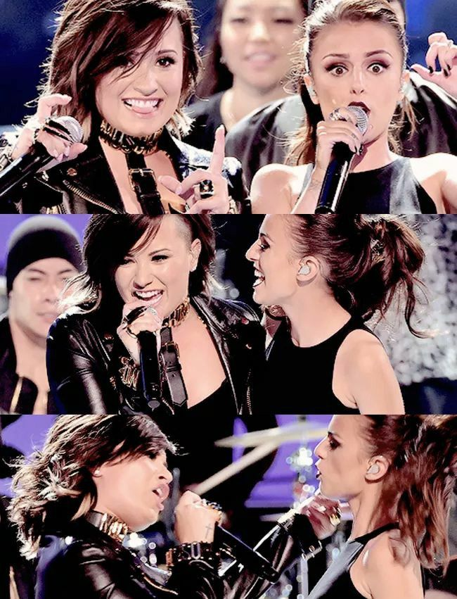 Demi Lovato and Cher Lloyd Really Don't Care
