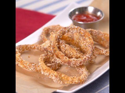 Crispy Oven-Baked Onion Rings
