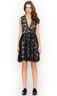 Ladies Dresses   Lucette Lace Dress   HONEY & BEAU