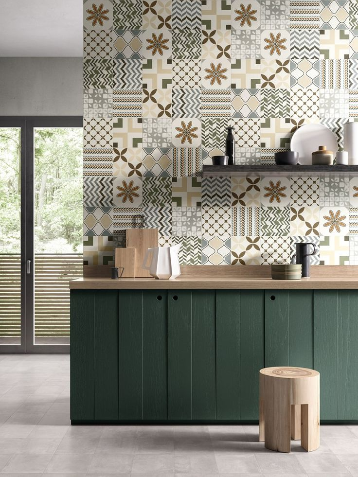 Indoor porcelain stoneware wall/floor tiles BE-SQUARE EASY by EmilCeramica by Emilgroup