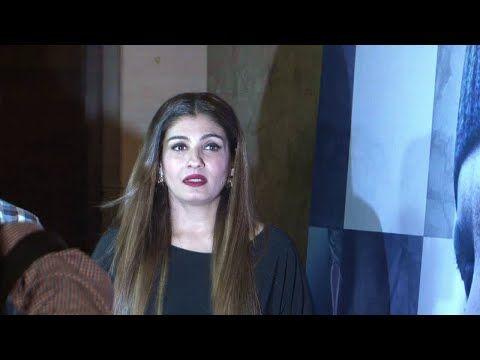 Raveena Tandon with husband Anil Thadani at screening of WAZIR.