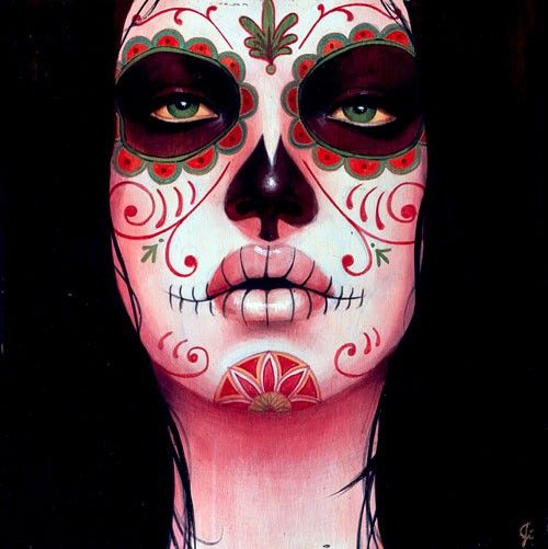 God I love Sylvia Ji. Especially the Day of the Dead inspired work. So creepy beautiful.
