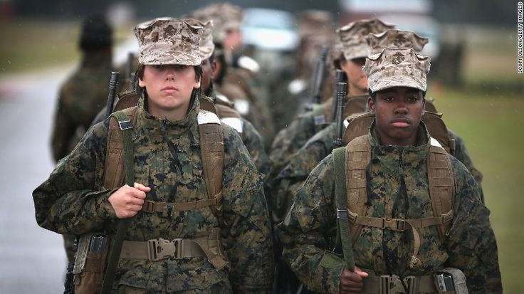 Military welcomes first women infantry Marines - CNNPolitics.com
