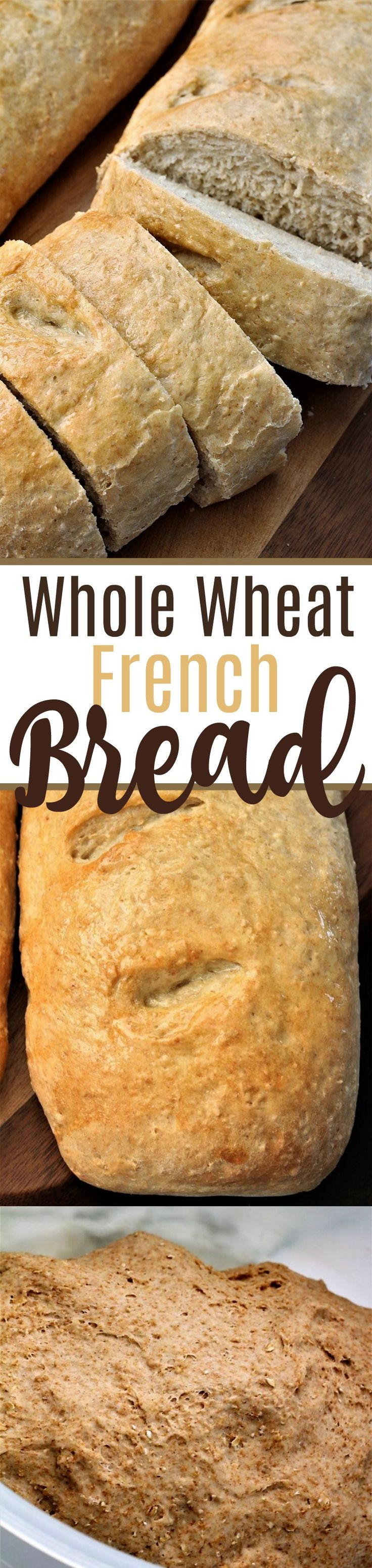 Whole Wheat French Bread, My Recipe Treasures Blog