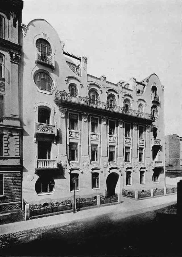 Służewska 3 około 1905