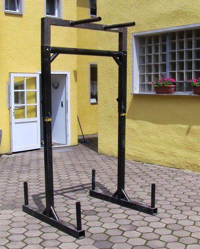 DIY Yoke Squat Stand Full