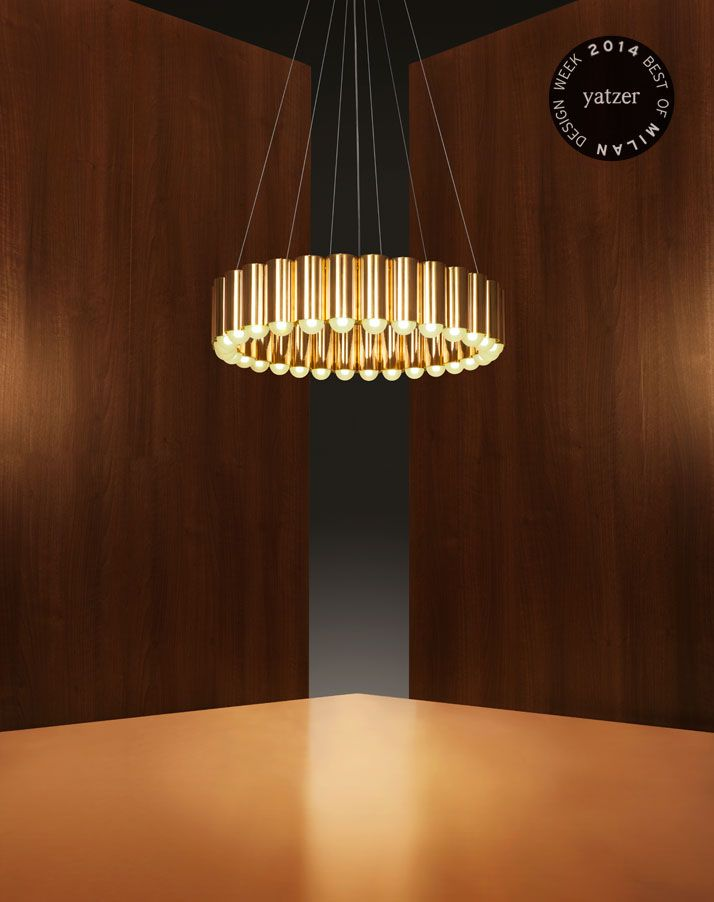 Carousel pendant light by Lee Broom. http://www.yatzer.com/best-of-milan-design-week-2014