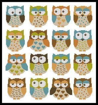 Owls 2 Pattern