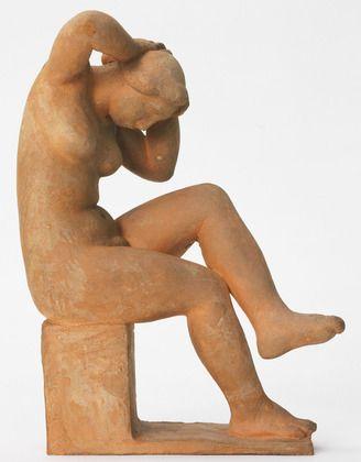 Aristide Maillol. Seated Figure. c. 1930?