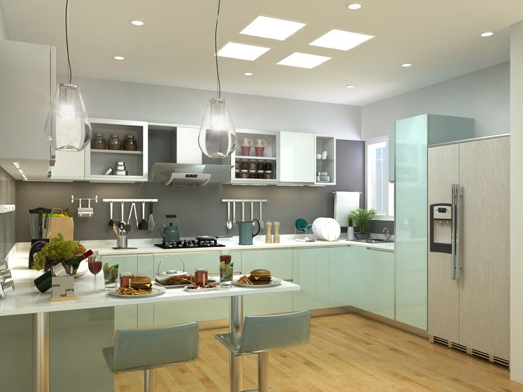 Just Look The Beautiful Kitchen InteriorIf You Want More Interior Designs Visit Our Website