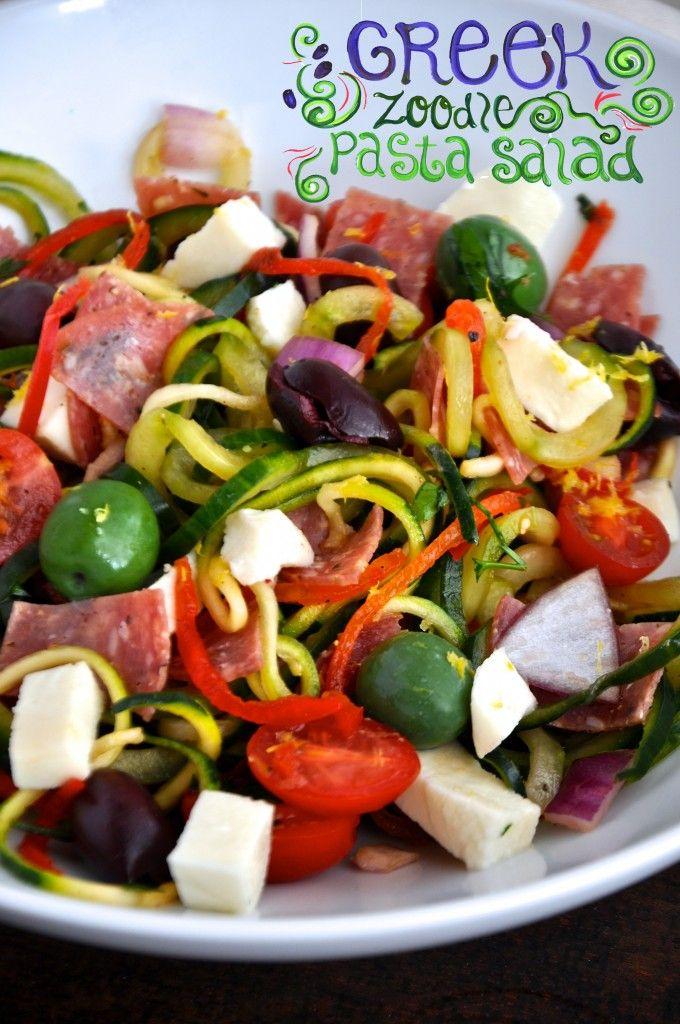 Paleo Sandy's Greek Pasta Salad