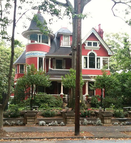 The Beath Dickey House 1890 Is A Queen Anne Victorian Located On