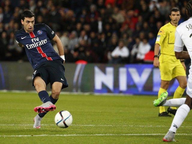 Liverpool 'send scouts to watch PSG midfielder Javier Pastore'
