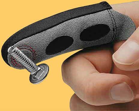 The Magnetic Magic Finger Keeps Nails and Screws at Hand #magnetic trendhunter.com