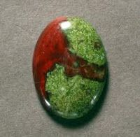 Dragon Blood Jasper: Metaphysical Meaning: Enhances life force; healing; balance Source: Australia Mohs Hardness Scale: 7 Chakra: Heart Source: Australia Astrological: Leo Physical: Good for nerves, bladder, spleen, stomach, kidneys, liver, bile ducts, mineral balance and sense of smell. Provides physical heart healing.