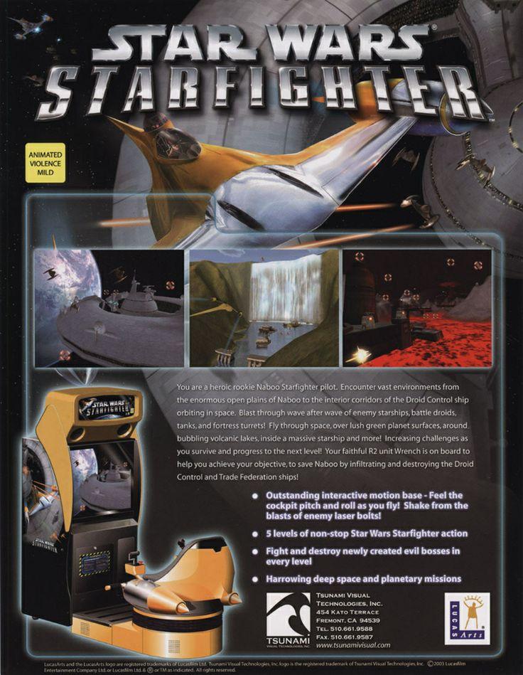 Star Wars Starfighter arcade