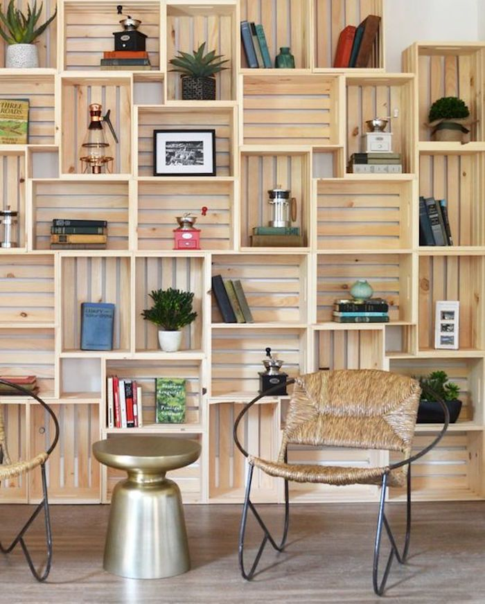 Home Decor: 3 Ways to use old wooden crates. Don't throw away your wooden crates just yet. Take a look at these ideas on how to re-purpose them first.