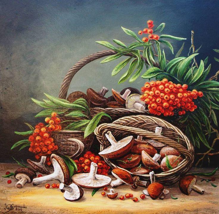 натюрморт с грибами: 25 тыс изображений найдено в Яндекс.Картинках
