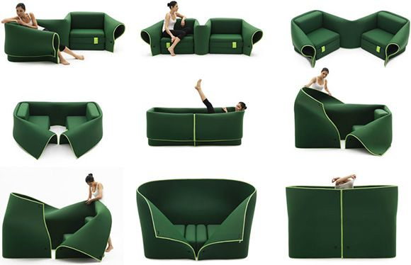 It could be chairs, also be a sofa, small sheltered bed...