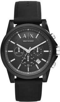 Armani Exchange AX1326 IP and Silicone Watch by Armani Exchange http://ift.tt/2CXOXji