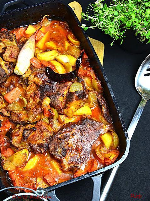R'n'G Kitchen: Karkówka pieczona z warzywami