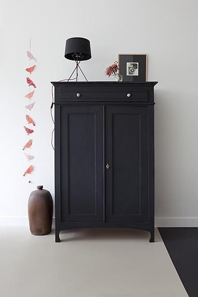 "I'm really starting to see black in a new light these days! I have always liked it but grey has been trending for the last few years as the ""go to "" color so I've been looking at everything but black! Love this piece of furniture!! SHB"