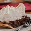Fast dessert..using instant pudding as a shortcut..Talk about the best of both worlds! Here's our Chocolate Meringue Pie, a luscious combination of chocolate pudding filling with a meringue topping in one amazing pie.