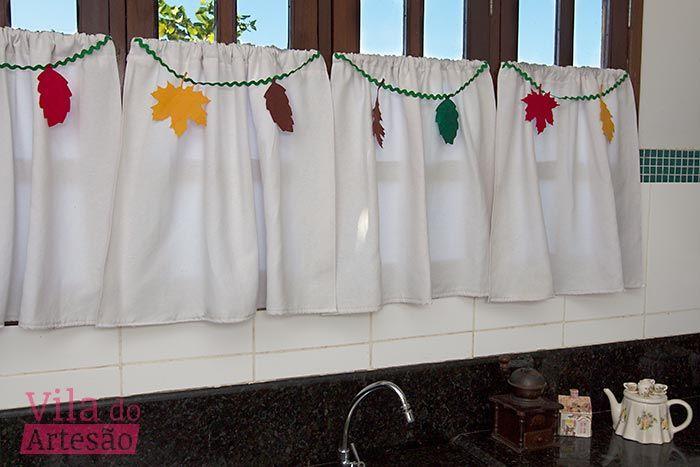 Tutorial Vila do Artesão - Como fazer um varal para decorar cortina
