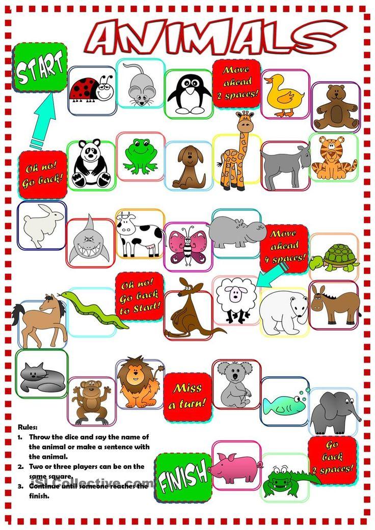 Animals - boardgame