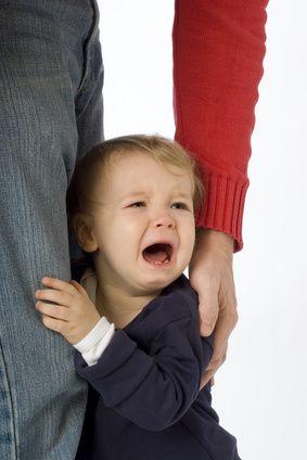Schreiendes Kleinkind