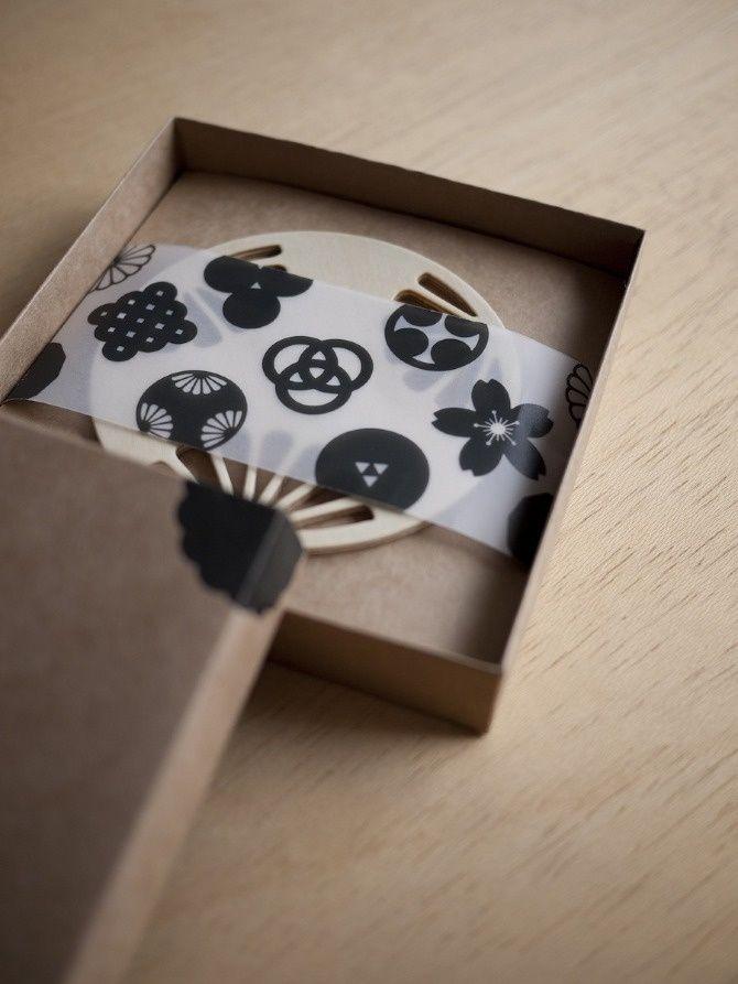 Japanese KAMON coasters