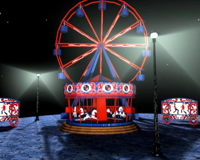The Fairground by Eivind Vetlesen. Student project animation made in After Effects and Cinema 4D.