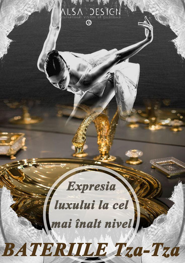 Cadouri de lux - bateriii din aur in designul interior! http://revista.alsadesign.ro/despre-noi/