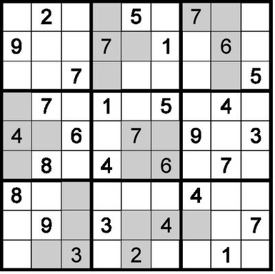 Rules of Sudoku 10-20-30:  Classic Sudoku Rules apply.  Additionally, the sum of any grey region equals to 10, 20 or 30.