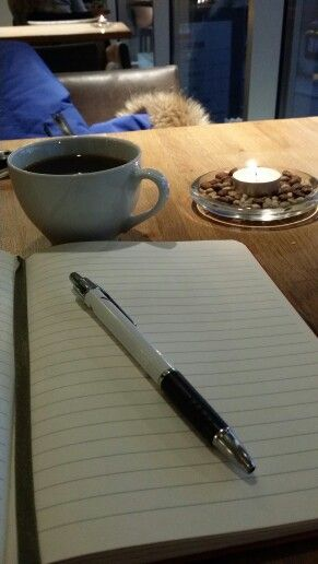 Coffee and breakfast in Horten. With blank pages waiting to be filled with ideas for blogposts to come. Life is good :-)