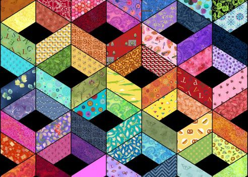 quilt (204 pieces)
